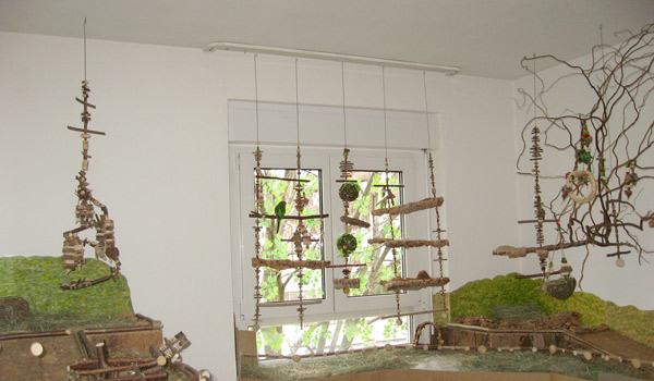 Fensterdeko und alte/neue Spirale
